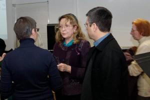Michelle Garnier-Panafieu entre Raphaëlle Legrand et Bertrand Porot